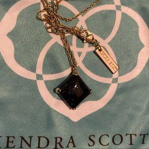 Vintage! Navy Goldstone Kendra Scott Necklace
